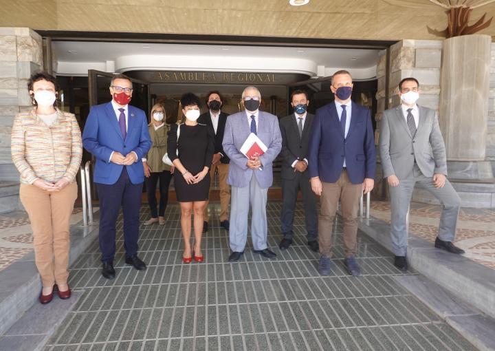 Parlamento Murcia declaración institucional